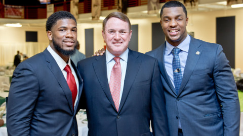 Quinton Coples holds annual QC Honors gala