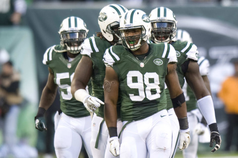 Jets say arrow is pointing up on Quinton Coples