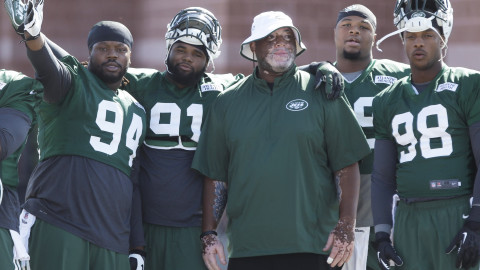 Quinton Coples on Jets' youth movement: 'I don't see myself losing playing time'