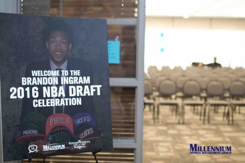 Millennium Sports Management Group Welcomes Brandon Ingram's Friends and Family for a Hometown NBA Draft Party