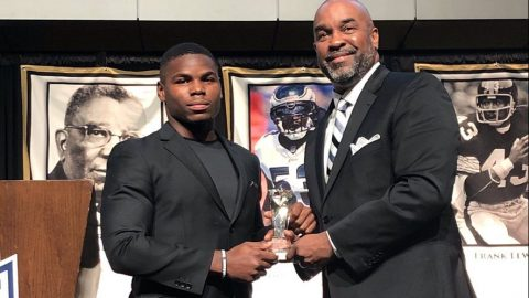 Tarik Cohen Named 2019 Black College Football Pro Player of the Year